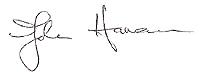 John Haman signature